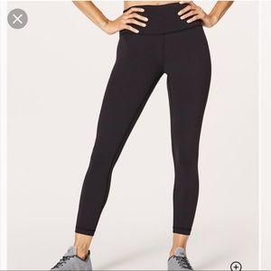 Lululemon High Waist Wunder Under 7/8 Leggings 🖤